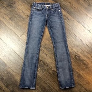 7 For All Mankind Kimmie Straight Leg Jeans (25)